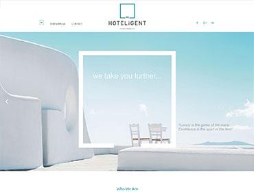 Κατασκευή ιστοσελίδας Hoteligent
