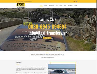 taxi transfers chania